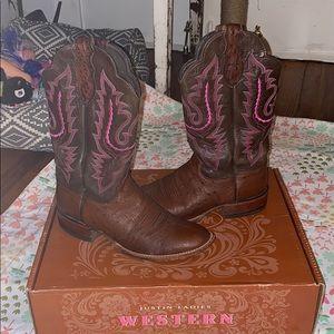 JUSTIN ladies western boots